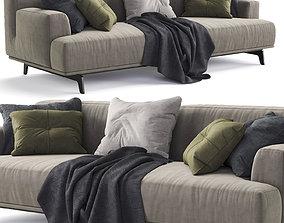 3D Poliform Sofa TRIBECA