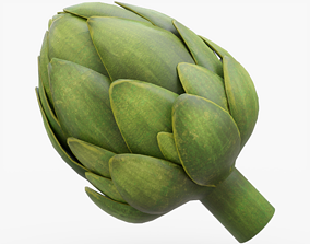 3D model game-ready Artichoke