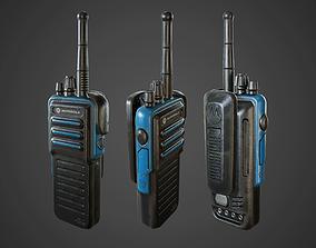 Motorola Handheld Radio 3D model