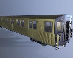 3D model TTC T1 Subway Car