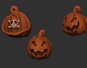 Haunted Mansion Oogie Boogie Pumpkin 3D printable model 3