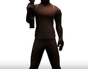 3D model Swat Sniper