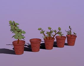 Stylize-Pots 3D model