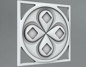 details 3D Square decoration