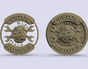 Custom Motors 3D print model