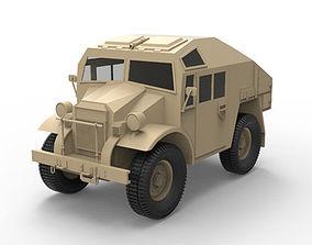 Canadian military pattern truck 3D asset
