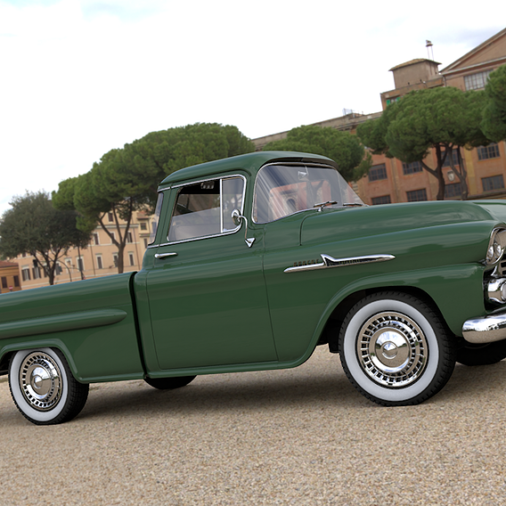 CHEVROLET 3100 APACHE PICKUP FLEETSIDE 1958