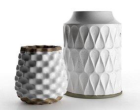 3D model Kora and Rati Vases