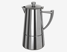 3D asset Coffee Kettle - 006