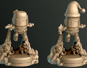 3D print model The Bounty Hunter
