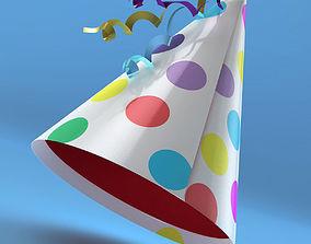 Birthday Party hat 3D