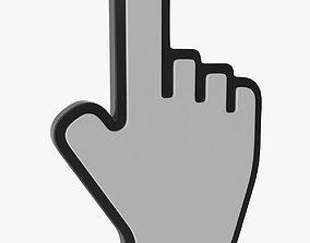 Hand Cursor v2 3D asset