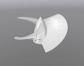 Propeller 3D print model