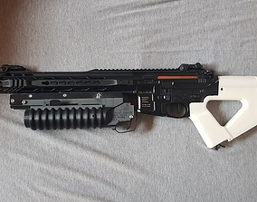 3D print model Airsoft M203 Launcher