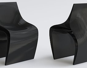 game-ready peeler by Daniel Widrig 3D printed chairs by 2