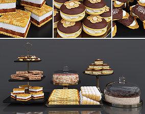 3D Cake bar Espresso cheesecake and Tiramisu