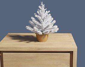 3D model Table Christmas tree 30 cm