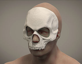 3D printable model Halloween mask Skull mask Masquerade