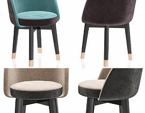 realtime Colette chair 3d model