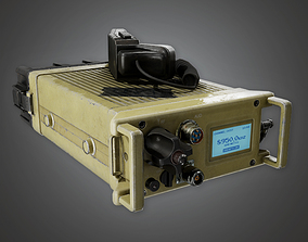 3D asset Military Communication Field Device 02 - MLT - 2
