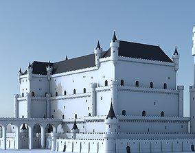 3D Fantasy Castle 004