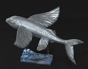 Flying fish 3D print model