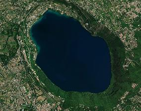 Lake in Italy 3D model PBR