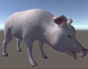 3D asset Unity Pig