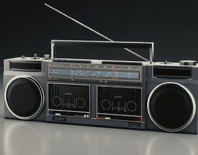 Radio 3D PBR