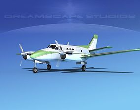 3D model Beechcraft King Air C100 V15