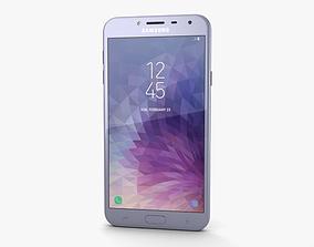 3D Samsung Galaxy J4 Orchid Gray