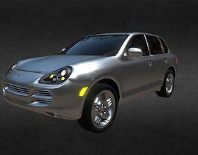Porsche Cayenne 3D model VR / AR ready