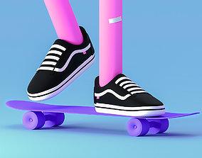 vans and skate 3D