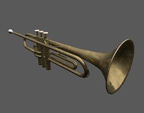 3D model PBR Trumpet