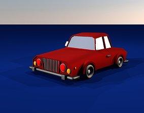 automotive Low Poly Car 3D