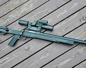 LSP Tactical Vsr 10 stock 3D printable model