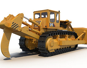 3D Bulldozer CAT