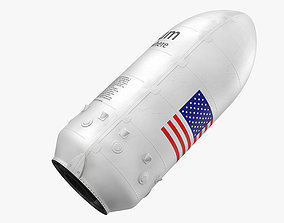 Falcon 9 Payload 3D model