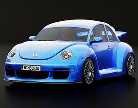 Volkswagen Beetle RSi 2003 Rigged 3D model