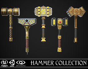 Fantasy Hammer Collection 3D