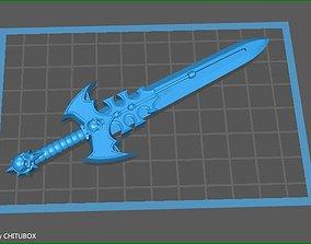 3D printable model games Mythical Batman Power Sword