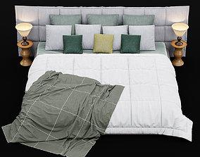 Modern bed 14 3D model