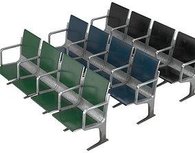 3D model Waiting Chair 1