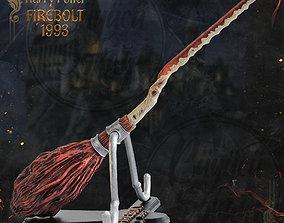 Firebolt Broomstick - Harry Potter - 3D printable model 2