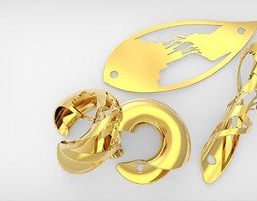 3D print model Artistic Leaf Industry Impact Silhouette 4