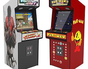 3D model Arcade Atari Machine