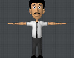Teacher 3D asset
