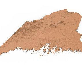 Maine Relief Map 3D printer model