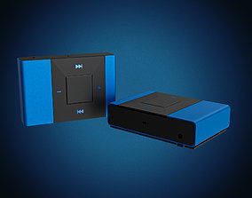 Mp3 3D model - audio device
