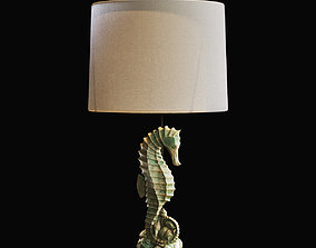 3D Seahorse Table Lamp